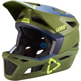 Leatt DBX 4.0 DH Helmet, Oliva/azul